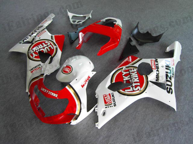 Suzuki gixxer 2000 2001 2002 GSXR1000 lucky strike fairings