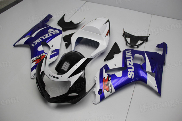 2000 2001 2002 Suzuki GSXR1000 blue/white/black fairings,
