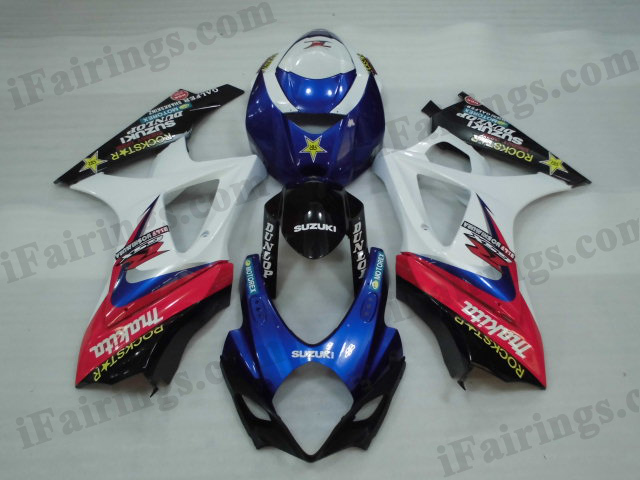2007 2008 Suzuki GSXR1000 custom fairing kits.