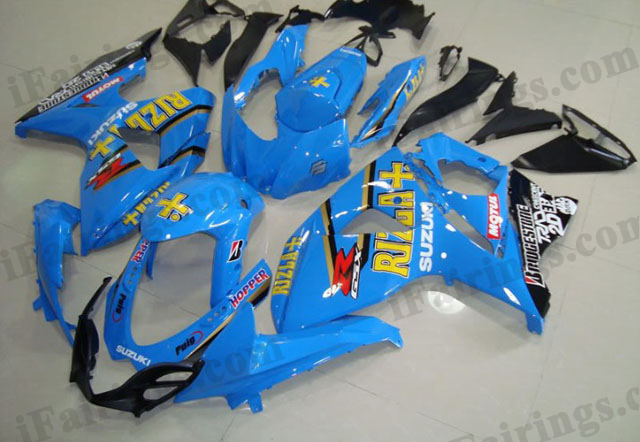 2009 2010 2011 2012 2013 2014 GSXR1000 Rizla fairings.