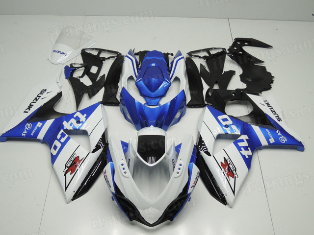 2009 to 2014 Suzuki GSXR1000 TYCO graphic fairing kits.