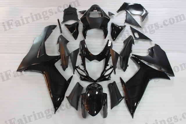 2011 2012 2013 2014 Suzuki GSXR600/750 black fairing kits.
