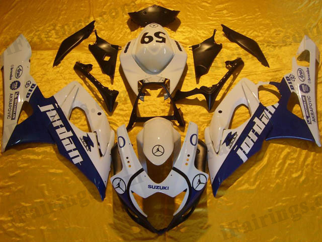 gixxer 2005 2006 GSXR1000 jordan replica fairings