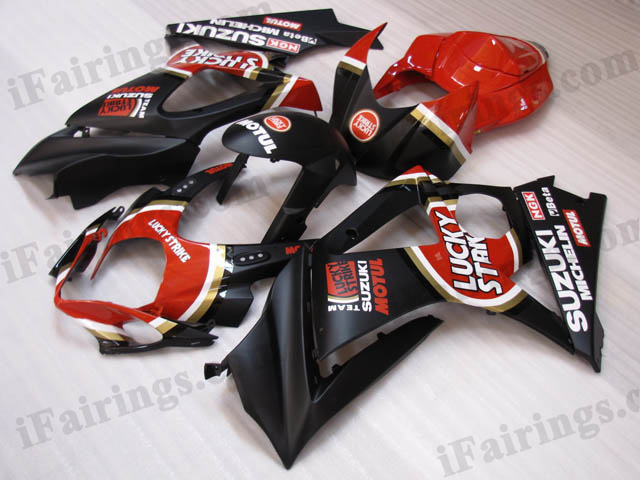 gixxer 2007 2008 GSXR1000 lucky strike fairing kits