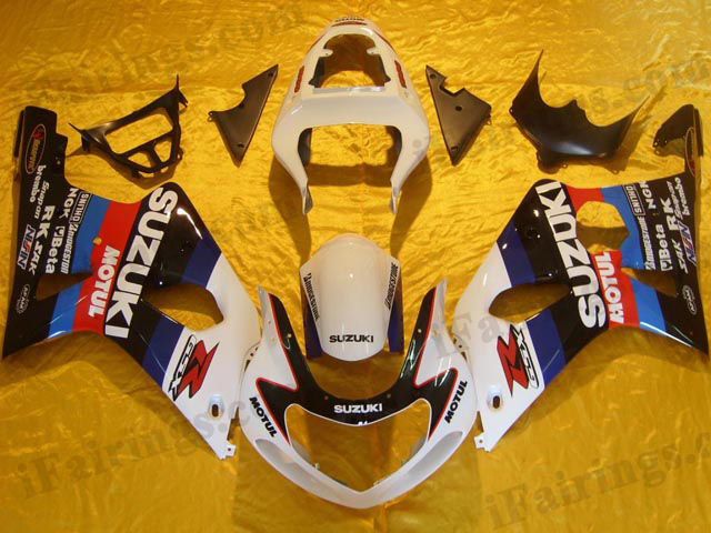 GSXR1000 2000 2001 2002 custom fairings, 2000 2001 2002 GSXR1000 decals.