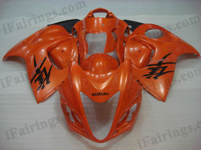hayabusa 2008 to 2017 GSXR1300 orange fairings.