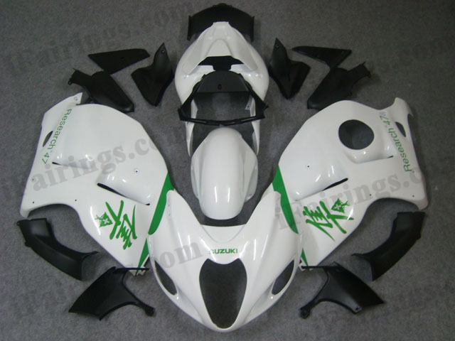 hayabusa 1999 to 2007 GSXR1300 pearl white fairings