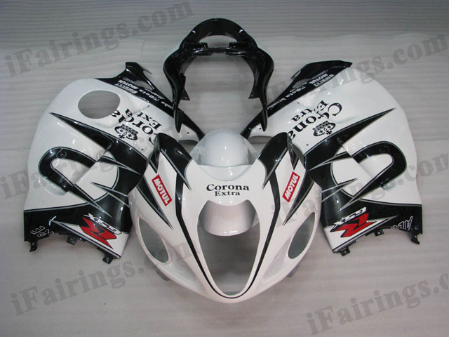 Hayabusa fairings for GSXR1300 1999 to 2007 Corona Extra graphic.