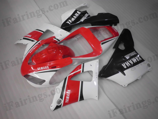1998 1999 Yamaha YZF-R1 red 50th anniversary scheme fairing kits.