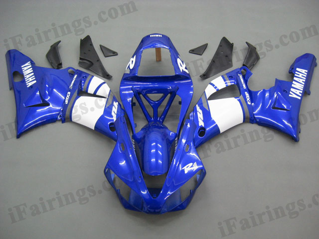 2000 2001 YZF-R1 blue and white fairing kits.