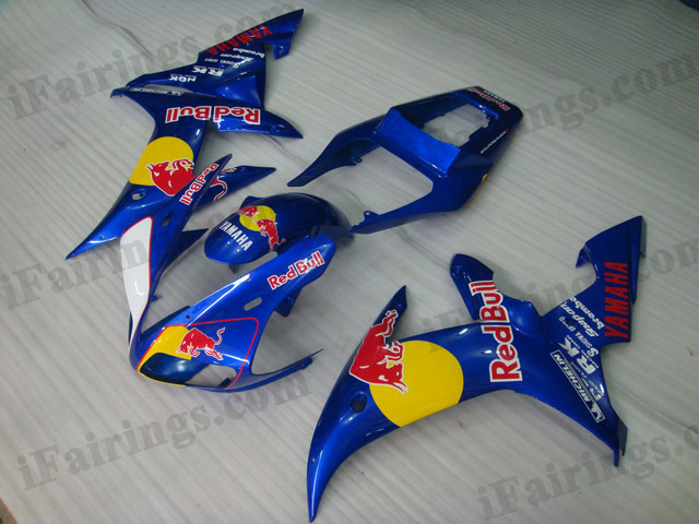 2002 2003 YZF-R1 red bull fairing kits.