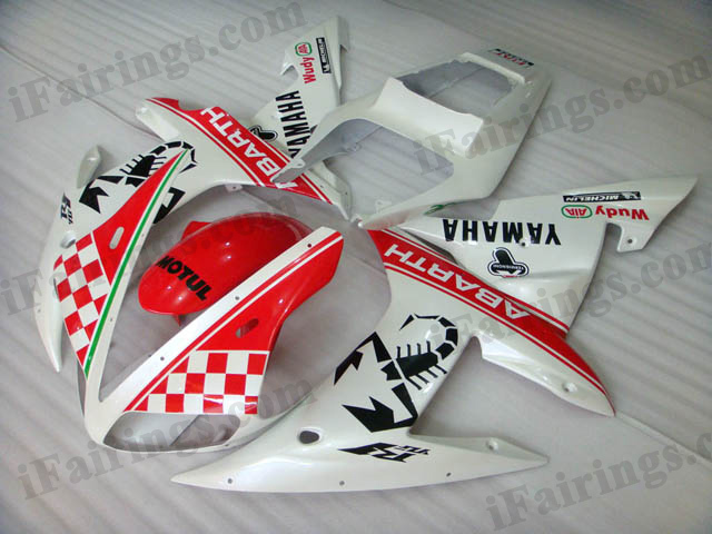 2002 2003 YZF-R1 Abarth fairing kits