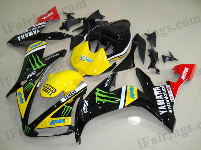 2004 2005 2006 YZF-R1 monster fairing kits.