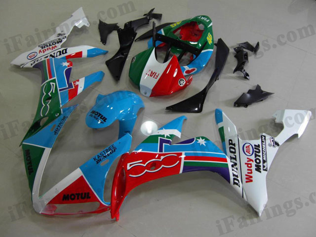 2004 2005 2006 YZF-R1 Fiat edition fairing kits