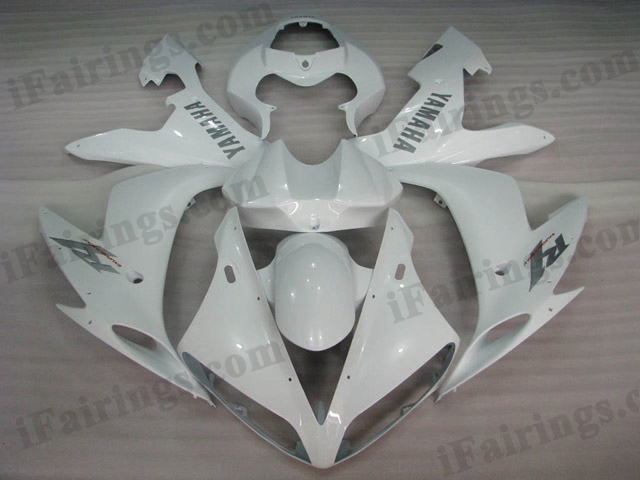 2004 2005 2006 YZF-R1 pearl white fairing kits