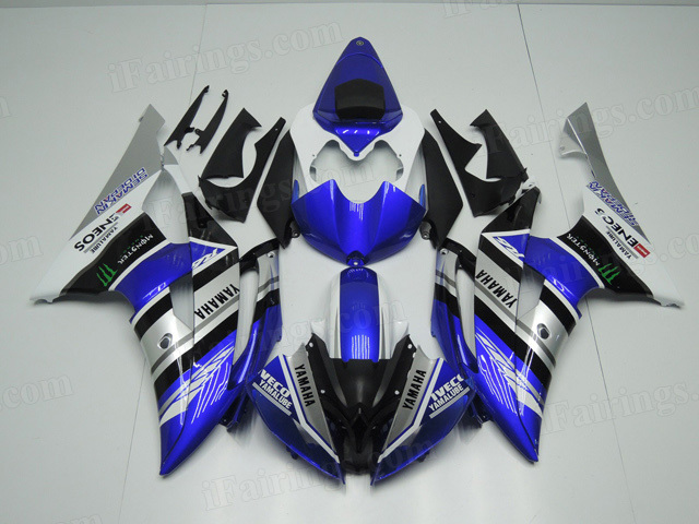2008 to 2015 Yamaha YZF R6 replacement fairing kits.