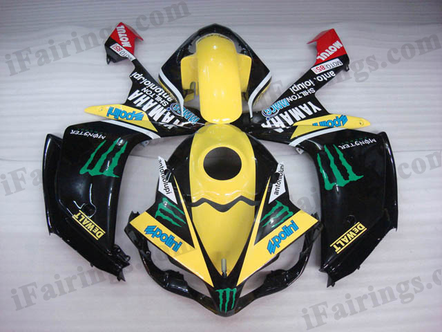 2007 2008 YZF R1 monster fairing kits