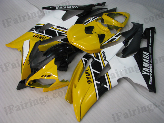 2008 to 2015 Yamaha YZF-R6 50th anniversary fairing kits.