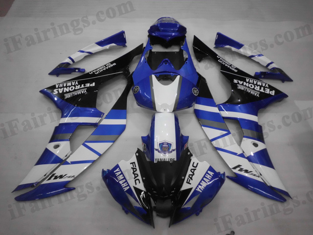 2008 to 2015 Yamaha YZF-R6 rossi fairing kits.
