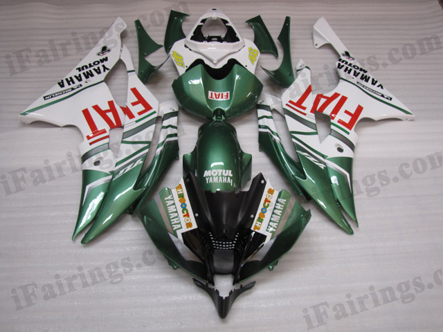 2008 to 2015 YZF R6 fiat fairing kits