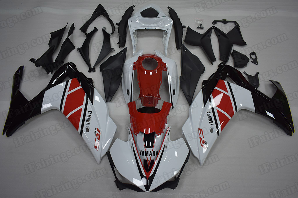 2015 2016 2017 2018 Yamaha R3 50th Anniversary Edition Fairings