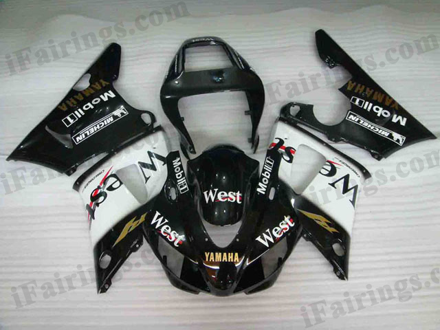 aftermarket fairings for 1998 1999 YZF R1 West graphics.