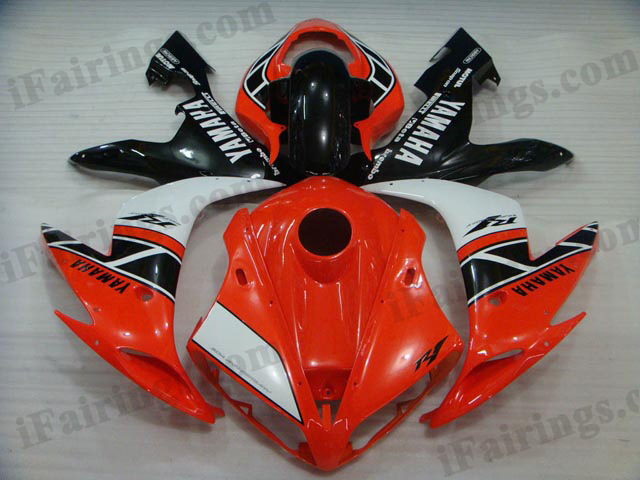 aftermarket fairings for 2004 2005 2006 YZF R1 50th anniversary decals.