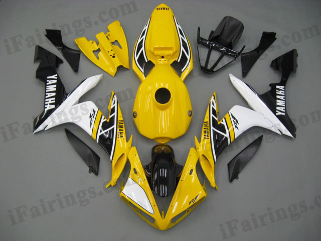 aftermarket fairings for 2004 2005 2006 YZF R1 50th anniversary graphics.
