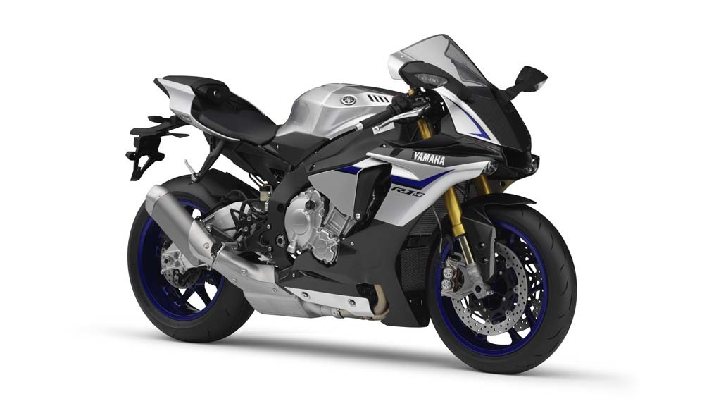 Motorcycle fairings for 2015 2016 Yamaha YZF-R1 Silver/Black.