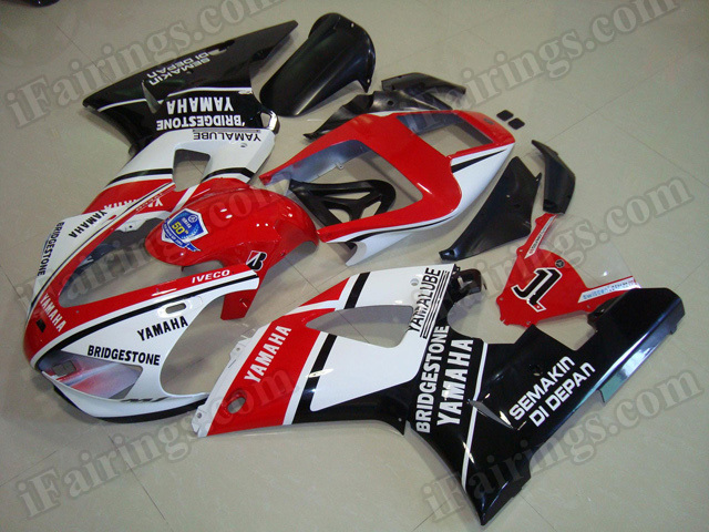 Motorcycle fairings/body kits for 1998 1999 Yamaha YZF R1 50th anniversary edition..