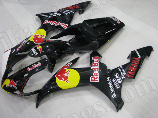 Motorcycle fairings/body kits for 2002 2003 Yamaha YZF R1 RedBull replica.
