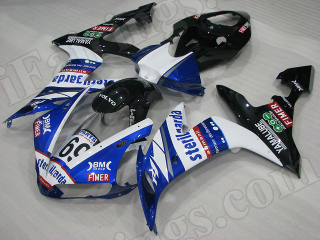 Motorcycle fairings/body kits for 2004 2005 2006 Yamaha YZF R1 Sterilgarda replica.