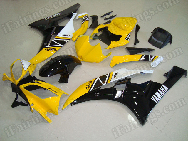 Motorcycle fairings/body kits for 2006 2007 Yamaha YZF R6 50th anniversary replica.
