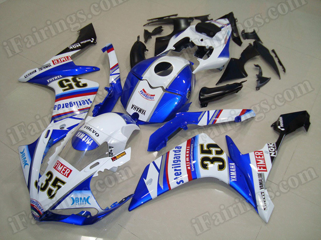Motorcycle fairings/body kits for 2007 2008 Yamaha YZF R1 STERILGARDA graphic..