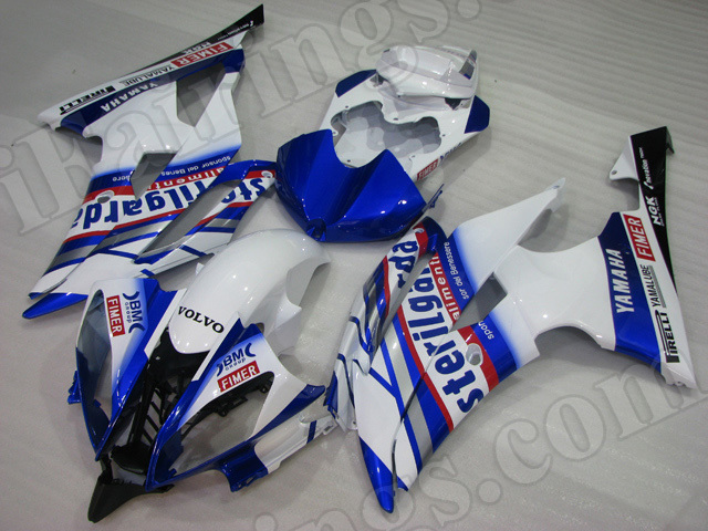 Motorcycle fairings/body kits for 2008 to 2015 Yamaha YZF R6 terilgarda replica.