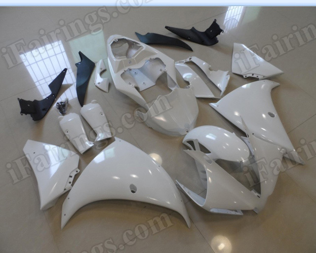 Motorcycle fairings/body kits for 2012 2013 2014 Yamaha YZF R1 unpainted.