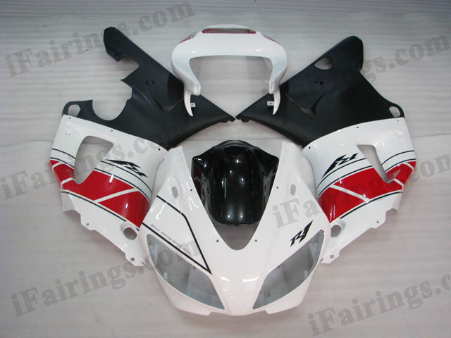 Replacement fairings for1998 1999 YZF R1 50th anniversary graphic.