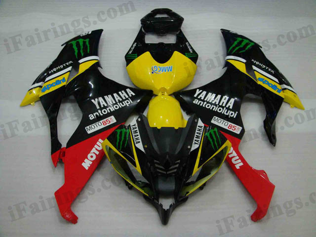 Yamaha 2008 to 2015 YZF R6 monster replica fairings