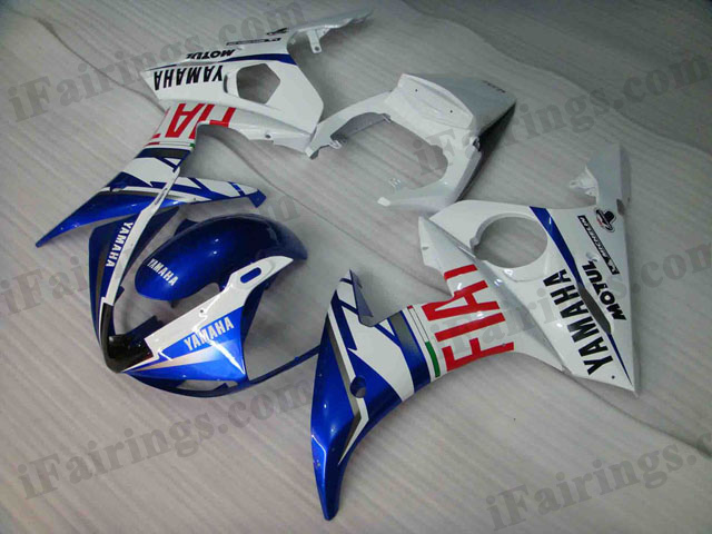 YZF-R6 2003 2004 2005 Fiat replica fairings, 2003 2004 2005 R6 plastic..