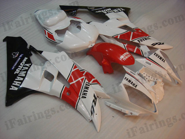 YZF-R6 2006 2007 50th anniversary fairings, 2006 2007 R6 decals.