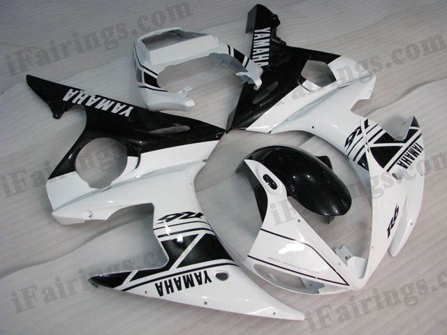 YZF-R6 2003 2004 2005 50th anniversary fairings, 2003 2004 2005 R6 plastic.