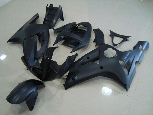 2003 2004 ZX6R 636 matt/flat black fairings