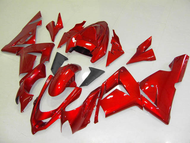 2004 2005 ZX10R candy red fairings