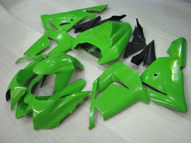 2004 2005 ZX10R lime green fairing kits