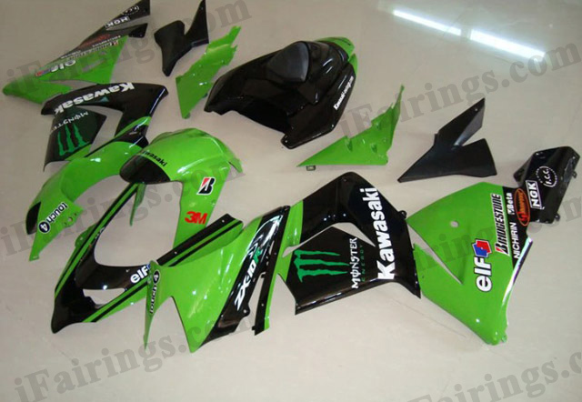2004 2005 ZX10R monster replica fairing kits