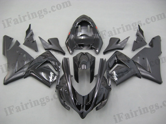 2004 2005 ZX10R black fairings