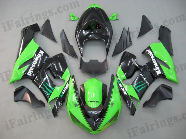 2005 2006 ZX6R 636 monster fairing kits
