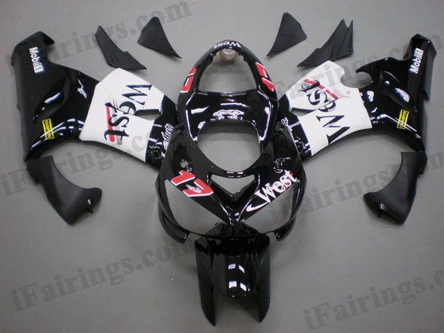 2005 2006 ZX6R 636 west fairing kits