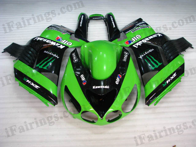 2006 2007 2008 2009 2010 2011 ZX14R monster fairing kits