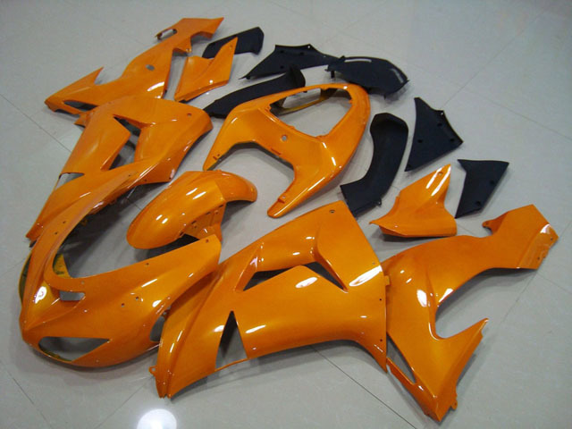 2006 2007 ZX10R orange fairing kits